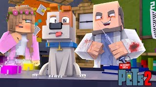Download MY TALKING PET IS EXPERIMENTED ON!   Minecraft Secret Life of Pets   Little Kelly Video