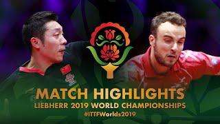 Download Simon Gauzy vs Xu Xin   2019 World Championships Highlights (R32) Video