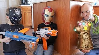 Download Nerf War: Avengers Infinity War (Spoilers) Video