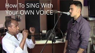 Download How To Sing With Your Own Voice - Roger Burnley Voice Studio - Singing Vocal Lesson Video