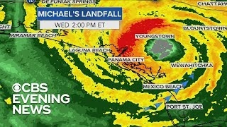 Download Tracking Hurricane Michael's path Video