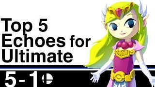 Download Top 5 Possible Echo Fighters for Smash Bros Ultimate Video