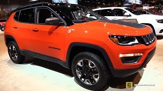 Download 2018 Jeep Compass Trailhawk - Exterior and Interior Walkaround - 2017 Chicago Auto Show Video