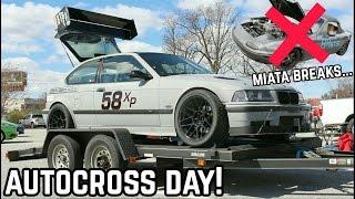 Download AUTOCROSS TAKES OUT THE MIATA : MX-5 Miata NA Drift Build Ep.8 Video