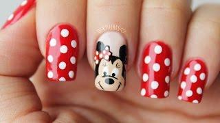 Download Minnie mouse nail art / Decoracion de uñas minnie mouse Video