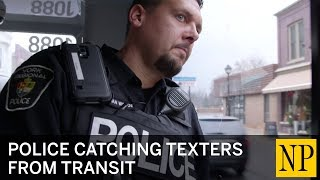 Download Police catching texters from transit Video