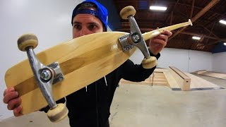 Download THE CANOE PADDLE SKATEBOARD | SKATE EVERYTHING EP 51 Video