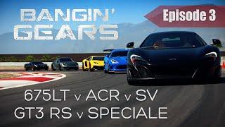 Download 675LT v VIPER ACR v AVENTADOR SV v GT3 RS v 458 SPECIALE! BANGIN' GEARS - Episode 3 Video