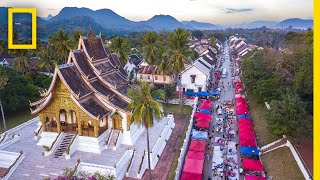 Download Explore the Stunning Beauty of Laos's Louangphrabang | National Geographic Video
