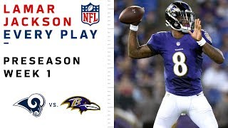 Download Every Lamar Jackson Throw & Run vs. Rams Video