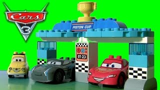 Download LEGO DUPLO CARS 3 Toys Piston Cup Race 10857 with Disney Pixar Cars 3 Jackson Storm by TOYS CLUB Video