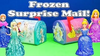 Download The Assistant Opens Surprise Mail Boxes with Elsa and Anna Video