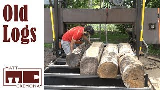 Download Sawing Old Logs - How long can I wait before sawing logs into lumber? Video