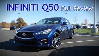 Download 2017 Infiniti Q50: Full Review   2.0t, 3.0t, Sport, Red Sport 400 & Hybrid Video