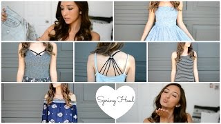 Download Spring Haul 2015! Try-On Brandy Melville, Pac Sun, Forever 21 Video
