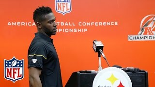 Download Antonio Brown on Distractions, Odell Beckham & Battling with Malcolm Butler | NFL Press Conference Video