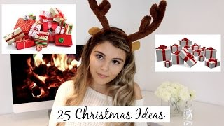 Download HOLIDAY GIFT GUIDE 2016: 25 CHRISTMAS GIFT IDEAS I Olivia Jade Video