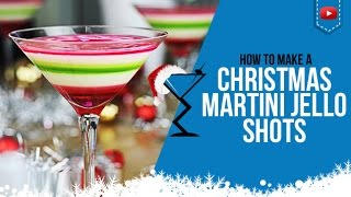 Download Christmas Jello Shots - How to make Layered Christmas Jello Shots Cocktail Recipe Drink (Popular) Video