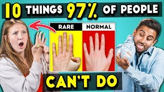 Download Adults Try 10 Things 97% Of People Can't Do | The 10s Video