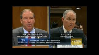 Download Udall grills Pruitt about emails Video