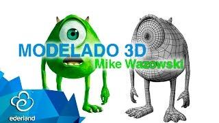 Download Modelado 3d Mike Wazowski en 3ds MAx #Ederland Video