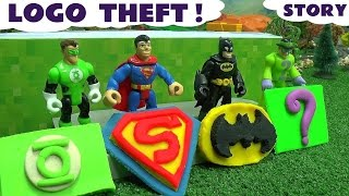 Download Batman Superman Superhero Logo Theft Play Doh Thomas & Friends Story The Riddler Green Lantern Video