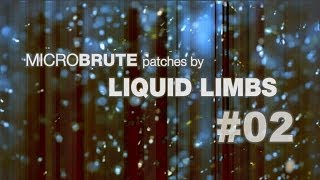 Download MicroBrute patches by LIQUID LIMBS #02 Video