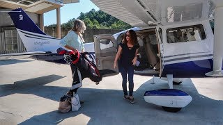 Download Flying a Brand New Cessna 206! - Heaven's Landing to Falcon Field Video