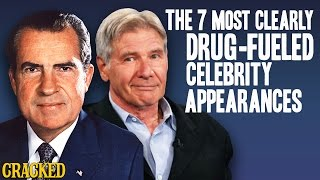 Download The 7 Most Clearly Drug-Fueled Celebrity Appearances - The Spit Take Video