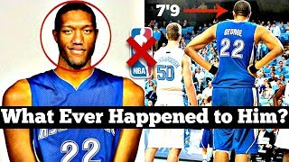 Download He was the TALLEST Player in the History of College Basketball... Why Didn't He Make the NBA? Video