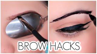 Download Eyebrow Hacks Everyone Should Know! Video