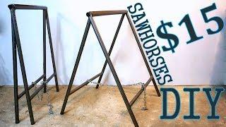 Download Steel SawHorses DIY [PLANS] Video
