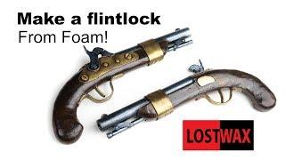 Download How to Make a Cosplay Flintlock From EVA Foam. DIY Pirate Gun, Pistol Video