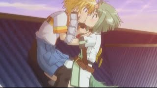 Download Dog Days 2 Scene - Shinku & Eclair Kissing[Eng Sub] Video