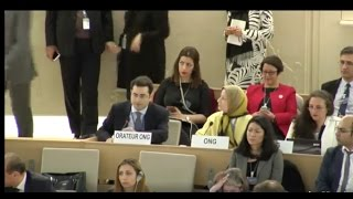 Download Hillel Neuer Calls Out Sweden During UNHRC Report on Iran, U.N. Expert Responds Video