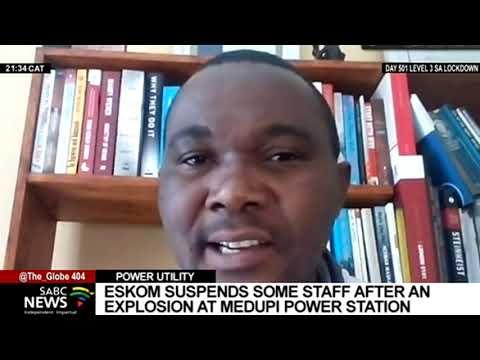 Medupi Power Station explosion sees Eskom suspend some staff
