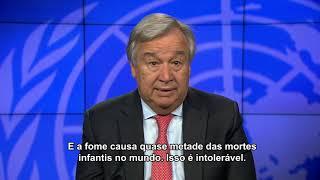 Download SECRETÁRIO-GERAL MENSAGEM DE VÍDEO SOBRE O DIA MUNDIAL DA ALIMENTAÇÃO 16 de outubro de 2018 Video