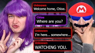 Download I'M SO CREEPY...WILL SCOTT LIVE OR DIE? | The Watcher Text Story (Part 2 & Bloopers) Video