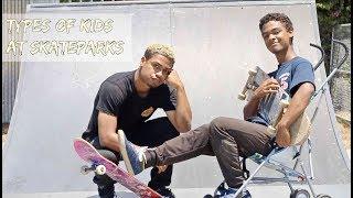 Download Types of Kids at Skateparks Video