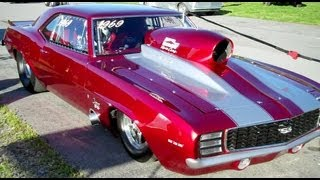 Download 1969 Camaro Drag Car Video