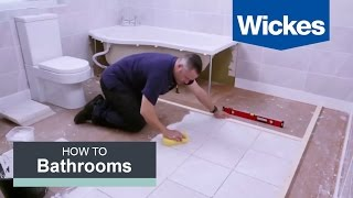 Download How to Tile a Bathroom Floor with Wickes Video