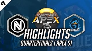 Download Rogue vs EnVyUs ft. Mickie D.Va Highlights | OGN Overwatch APEX Quarterfinals Video