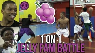 Download Jelly Fam 1 on 1s 🍇 Isaiah Washington, Jordan Walker, Pedro Marquez, and Markquis Nowell Video
