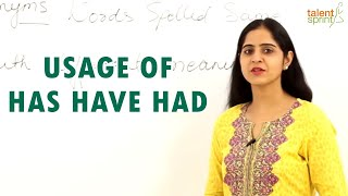 Download Usage of Has Have Had || IT Careers Video