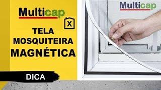 Download TELA MOSQUITEIRA MAGNÉTICA | MULTICAP Video