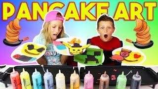 Download PANCAKE ART CHALLENGE!!! Video