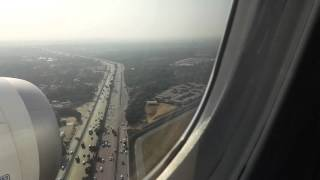 Download plane landing at New Delhi International Airport Boeing 787 Dreamliner HD Video