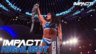 Download Tessa Blanchard Wins the Knockouts Championship! | IMPACT! Highlights Aug 30, 2018 Video