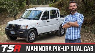 Download Mahindra Pik-Up - Un mini camión con traje de pickup, gran altura y excelente espacio de cabina Video