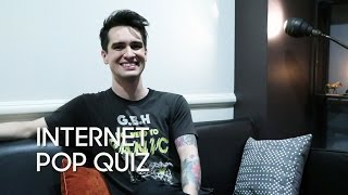 Download Internet Pop Quiz with Brendon Urie (Panic! At the Disco) Video